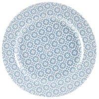 Churchill Moresque Profile Plate Blue 10.85inch / 27.6cm (Case of 12)