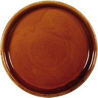 Art De Cuisine Rustics Centre Stage Mezze Dish Brown 7.85 Inches / 20cm (Case of 6)