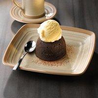 """Art De Cuisine Igneous Square Plate 10.5"""" / 27cm (Case of 6)"""