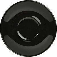 Royal Genware Saucer Black 16cm (Case of 6)