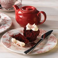 Churchill Vintage Prints Cranberry Toile Tea Plate 8.2 Inch / 21cm (Pack of 6)