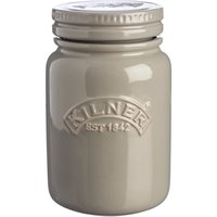 Kilner Ceramic Storage Jars Morning Mist 0.6ltr (Case of 6) - Storage Gifts