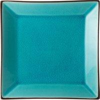 Utopia Soho Square Plate Aqua 10inch / 25cm (Case of 6)