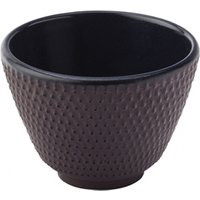 Japanese Cast Iron Teacups 2.5oz / 70ml (Pack of 2) - Japanese Gifts