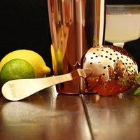 Urban Bar Copper Plated Biloxi Julep Strainer (Single)