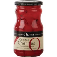 Opies Red Marachino Cocktail Cherries with Stem 225g (Single)
