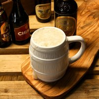 Munich Ceramic Beer Barrel Stein 17.5oz / 0.5ltr (Case of 24)