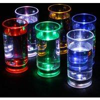 Liquid Activated Flashing Shot Glasses 2.1oz / 60ml (Case of 120) - Shot Glasses Gifts