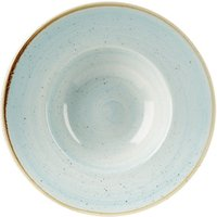"Churchill Stonecast Duck Egg Wide Rim Bowl 9.5"" / 24cm (Case of 12) - Duck Egg Gifts"