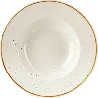 Churchill Stonecast Barley White Wide Rim Bowl 11 Inches / 28cm (Case of 12)