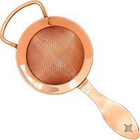 Click to view product details and reviews for Bonzer Heritage Copper Plated Fine Cocktail Strainer.