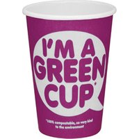 I'm A Green Cup Compostable Paper Coffee Cup 12oz / 340ml (Sleeve of 25)