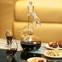 Port Sipper Set with Four Sippers (4 Glasses and Decanter)