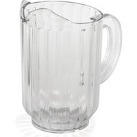 SAN Plastic Pitcher Jug 60oz / 1.7ltr (Single)