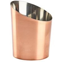 Angled Copper Plated Serving Cup 9.5cm (Case of 24)