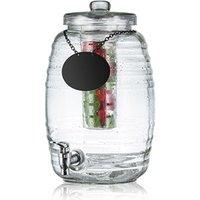 Beehive Glass Beverage Dispenser 9.5ltr