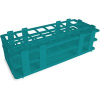 24 Hole Test Tube Rack Turquoise - Turquoise Gifts