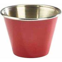 Red Stainless Steel Ramekin 12oz / 340ml (Single) - Drinkstuff Gifts