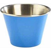 Blue Stainless Steel Ramekin 12oz / 340ml (Set of 6)