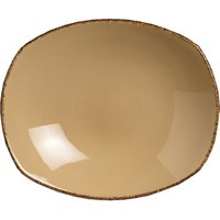 Steelite Terramesa Zest Platter Wheat 10andquot; / 25.5cm (Set of 12)