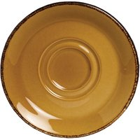 "Steelite Terramesa Soup Stand Saucer Mustard 6.5"" / 16.5cm (Set of 36)"