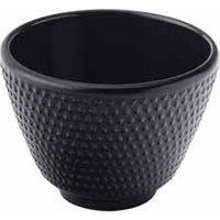 Mandarin Cast Iron Teacups Black 2.5oz / 70ml (Single)