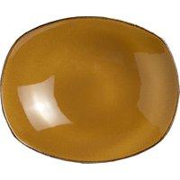 Steelite Terramesa Zest Platter Mustard 10andquot; / 25.5cm (Set of 12)