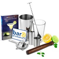 Home Cocktail Set with Cocktail Book & Irish Measures - Irish Gifts