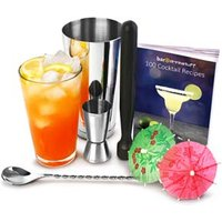 Professional Cocktail Book Cocktail Set