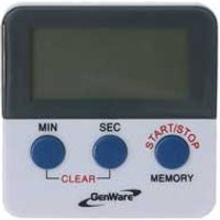 Genware Digital Kitchen Timer (Single) - Cooking Gifts