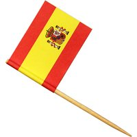 Spanish Flag Cocktail Picks (Pack of 576) - Spanish Gifts