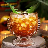 Click to view product details and reviews for Tiki Glass 14oz 400ml Single.
