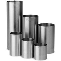 Click to view product details and reviews for Stainless Steel Thimble Bar Measures 6 Piece Bundle Set.