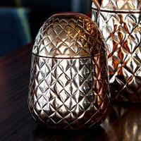 Click to view product details and reviews for Copper Pineapple Cup 1275oz 350ml Single.