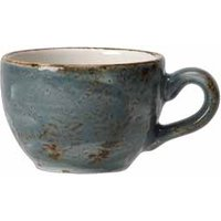 Steelite Craft Low Cups Blue 12oz / 340ml (Set of 6)