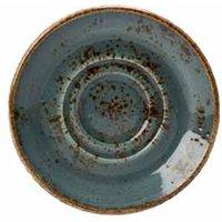 "Steelite Craft Double Well Saucer Blue 5.75"" / 14.5cm (Single)"