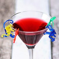 Animals Cocktail Cup Markers (12 Packs of 24)