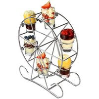 Ferris Wheel 7 Piece Appetiser Set with Shot Glasses (Case of 2) - Shot Glasses Gifts