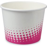Paper Ice Cream Tubs 16oz / 450ml (Case of 1000) - Ice Cream Gifts