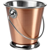 Copper Food Presentation Bucket 9cm (Single)