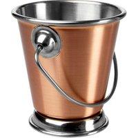 Copper Food Presentation Bucket 7cm (Single)