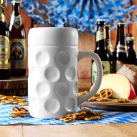 Munich Ceramic Dimpled Beer Stein 35oz / 1ltr (Case of 8)