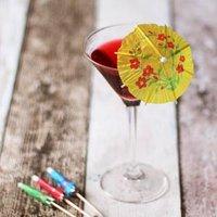 Paper Cocktail Umbrellas (Pack of 24)