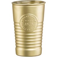 Officina 1825 Metallic Water Glasses Gold 11.4oz / 325ml (Pack of 6)