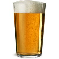 Duralex Unie Tri Lined Pint Glass CE at 20oz, LCE 1/2 Pint, LCE 1/3 Pint (Case of 24)