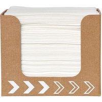Cardboard Napkin Dispenser with Dunisoft Napkins (Single)