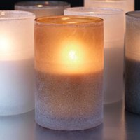 Duni Ice Candle Holders Dark Honey (Case of 8) - Candle Gifts
