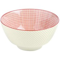 Tao Rice Bowl Red 12cm (Case of 4)
