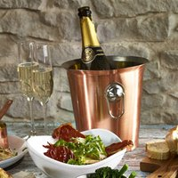 Copper Wine Bucket With Ring Handles (Single)
