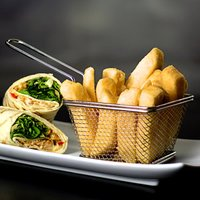 Mini Food Presentation Fry Basket 10.5 x 9 x 7cm (Case of 24)